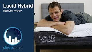 Download Lucid Hybrid Mattress Review - Support and Pressure Relief? Video