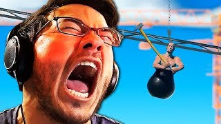 Download I LITERALLY THROW A CHAIR IN RAGE | Getting Over It - Part 1 Video