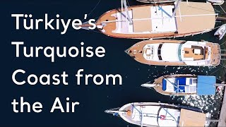 Download Turkey's Turquoise Coast from the Air Video