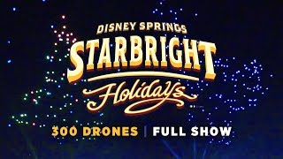 Download Starbright Holidays Drone Show at Walt Disney World Video