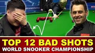Download TOP 12 BAD SHOTS | World Snooker Championship 2017 Video