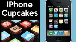 Download GIANT IPHONE CAKE! Social Media Cupcakes by Cupcake Addiction Video