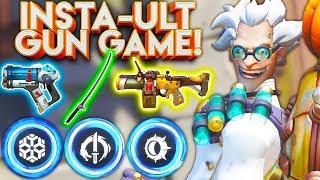 Download OVERWATCH INSTANT ULT GUN GAME! OVERWATCH CUSTOM GAME! Video
