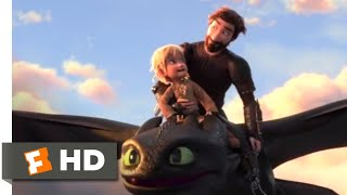 Download How to Train Your Dragon 3 (2019) - Toothless Returns Scene (10/10) | Movieclips Video