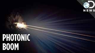 Download 'Sonic Boom' Of Light Captured For The First Time Ever Video