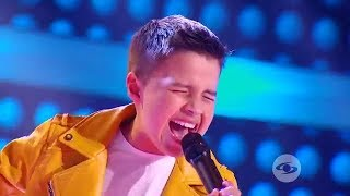 Download Juanse canta la Gloria de Dios de Ricardo Montaner - La Voz Kids Colombia - Superbatallas Video