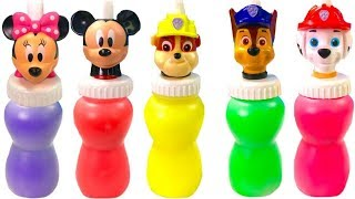 Download Best Learning Colors Video for Children - Paw Patrol Mickey Mouse Slime Surprise Toys | Fizzy Fun Video