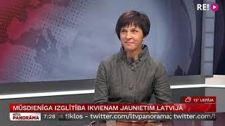 Download Mūsdienīga izglītība ikvienam jaunietim Latvijā. Intervija ar Zani Oliņu. Video