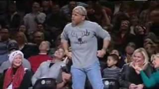 Download Shawn Michaels surprises the NBA fans at San Anton Video