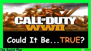 Download Call Of Duty 2017 Is Called WW2 - World War 2? - This Could Be Good AND Bad! BO3 Gameplay Video