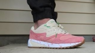 Download Saucony Originals Shrimp Scampi Grid 8000 Sneaker Detailed Look Review + On Feet Video