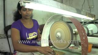 Download Moonstone shaping and polishing in Sri Lanka Video