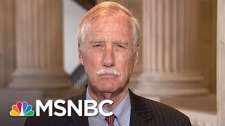 Download Sen. Angus King On Senate Health Care Bill: It's Not Good News   Morning Joe   MSNBC Video