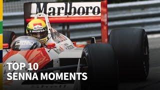 Download Top 10 Senna moments Video
