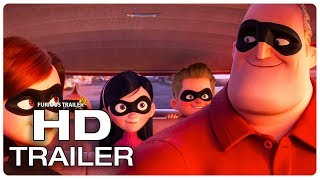 Download INCREDIBLES 2 All Movie Clips + Trailer (2018) Video