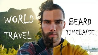 Download World Travel Beard Time Lapse - Growing a Beard around the globe! Video
