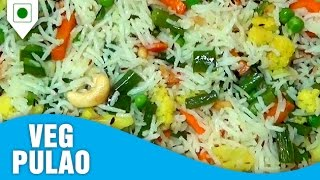 Download How To Make Veg Pulao Mumbai Restaurant | वेज पुलाव | Easy Cook With Food Junction Video