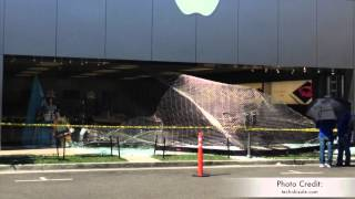 Download Promenade Apple Store - Smash and Grab Robbery, Store Destroyed Video