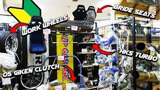 Download Ultimate JDM Parts Store in Japan | UpGarage | R34 GTR and S15 Silvia Spottings Video