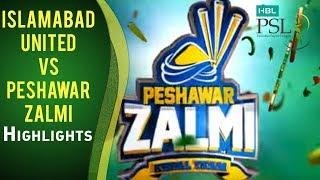 Download Match 23: Islamabad United vs Peshawar Zalmi - Highlights Video