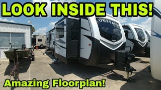 Download Wow! Awesome Travel trailer floorplan! Video