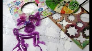 Download Make Your Own Stencils from Rubbish Video