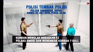 Download KRONOLOGI Polisi Tembak Polisi karena Emosi di Polsek Cimanggis - iNews Pagi 26/07 Video