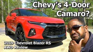 Download 2019 Chevrolet Blazer RS AWD Review - Chevy's 4-Door Camaro? Video