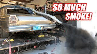Download Diesel NOOBS Try to Dyno a Cummins Powered Galaxie (Complete Disaster) Video