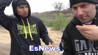 Download Mikey Garcia Camp Life Check Out His Amazing Home EsNews Boxing Video