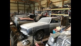 Download Massive Musclecar Barn Find Cars And Parts Hoard Found In Iowa Video