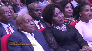 Download President Jacob Zuma with Pastor Alph Lukau at Alleluia Ministries International Video