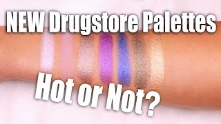 Download NEW DRUGSTORE MAKEUP PALETTES | Hot or Not Video