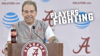 Download Nick Saban tells an interesting story about players fighting Video