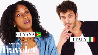 Download 70 People Reveal How to Tell If Someone Is From Their Country | Condé Nast Traveler Video