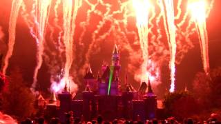 Download Remember... Dreams Come True Fireworks Spectacular with NEW Projections - Disneyland Park Video