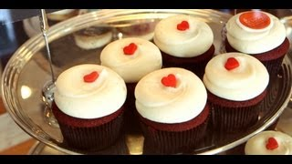 Download Red Velvet Cupcakes Recipe | Georgetown Cupcake | Get The Dish Video