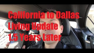 Download My California to Dallas, Texas Living Update | 1.5 YEARS LATER (Observations/Pros/Cons) Video