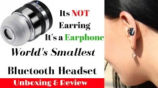 Download Hindi | World's Smallest Bluetooth headset ZB DOT | Sharmaji Technical Video