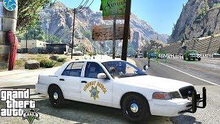Download GTA 5 MODS LSPDFR 1013 - CHP HIGHWAY PATROL!!! (GTA 5 REAL LIFE PC MOD) Video