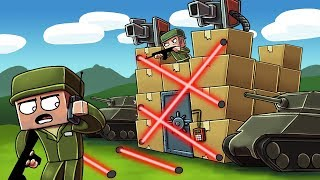 Download Minecraft | ULTIMATE BOX FORT DEFENSE CHALLENGE! (Box Fort vs Box Fort) Video