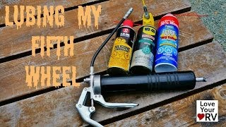 Download Lubricating My Fifth Wheel Trailer Video