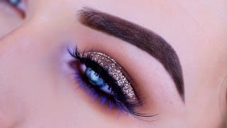 Download Bronze Glitter and Purple Eye Tutorial | Nyx Cosmetics Video