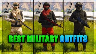 Download *NEW* TOP 3 SMUGGLER'S RUN MILITARY/COMBAT OUTFITS 1.41! (GTA 5 Online Best Clothing glitches 1.41) Video