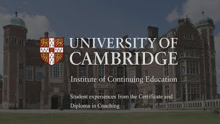 Download Coaching courses at the University of Cambridge Video