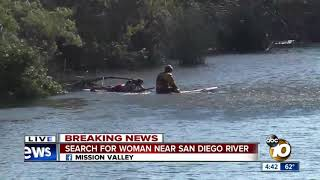Download Search for missing woman near San Diego River Video