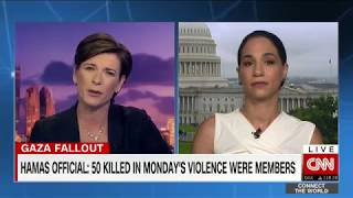 Download Noura Erakat Destroys False Rhetoric On Palestine & Hamas Claim Of 50 Dead Members On CNN Video