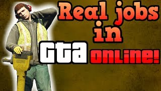 Download If GTA Online players had to work real jobs! Video