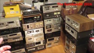 Download I bought 29 cassette decks! My best find so far. Video