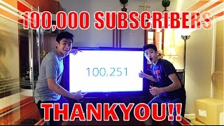 Download 100,000 SUBSCRIBERS!! THANKYOU!! #RoadTo1Million Video